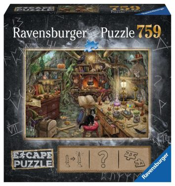 Puzzle escape la cocina