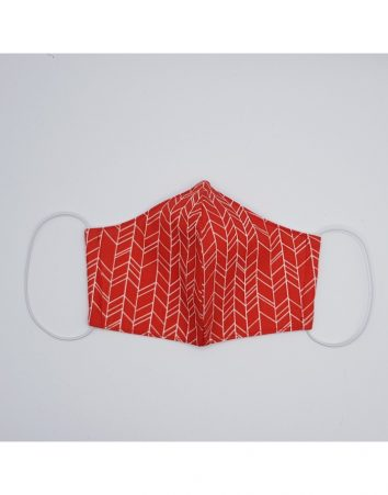 Mascarilla infantil flechas teja de Btbox