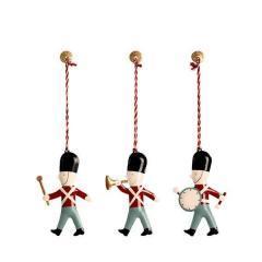 Adornos navideños tambores de Maileg