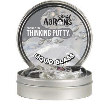 Plastilina inteligente Liquid Glass de Crazy Aarons