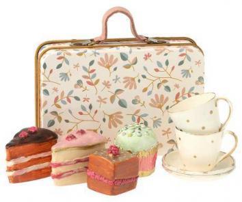 Set de té y pasteles de Maileg