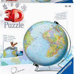 Puzzle 3d mundo