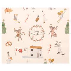 Papel de regalo Cosy Christmas White off de Maileg