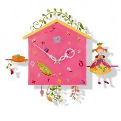 Reloj de pared La pequeña princesa de L´Oiseau Bateau