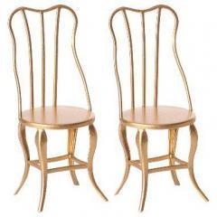Conjunto de sillas vintage de Maileg