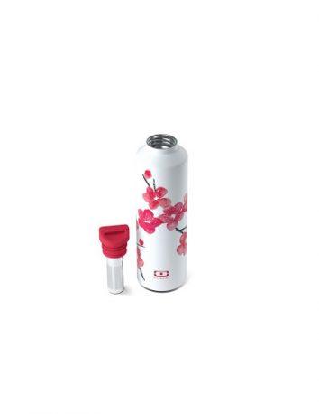 Botella térmica 500 ml + infusor Blossom de Monbento