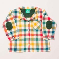 Camisa de leñador 5-6 años de Little Green Radicals