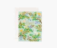 Postal Congrats Forest Card de Rifle Paper Co
