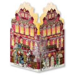 Casa Nostálgica en Navidad Mini Farolillo de Spiegelburg