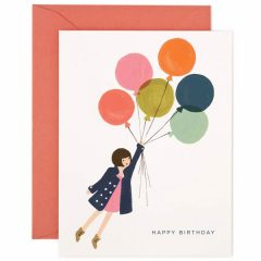 Postal Fly Away Birthday Card de Rifle Paper Co