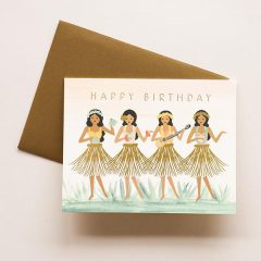 Hula Birthday Card de Rifle Paper Co