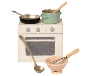 Juego de cocina de Maileg
