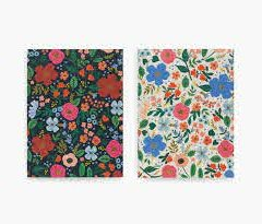 Libretas Wild Rose de Rifle Paper Co