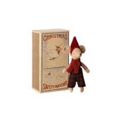 Ratón navideño en cajita de Maileg