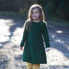 Vestido Wrap Up verde de Little Green Radicals