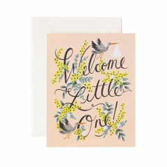 Postal Welcome Little One Card de Rifle Paper Co