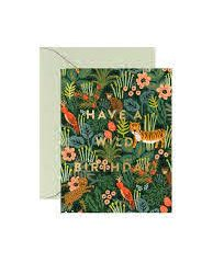 Wild Birthday Card de Rifle Paper Co
