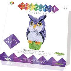 Creagami origami 3d Búho