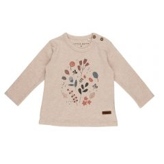 Camiseta 74 con estampado floral de Little Dutch