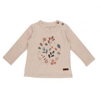 Camiseta 74 con estampado floral de Little Dutch