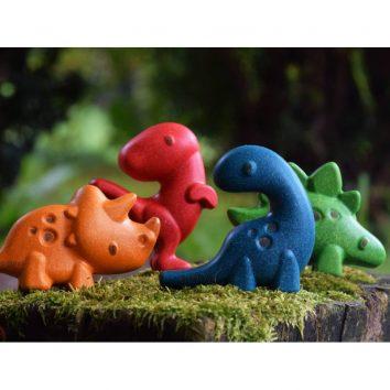 Set de dinosaurios de Plantoys