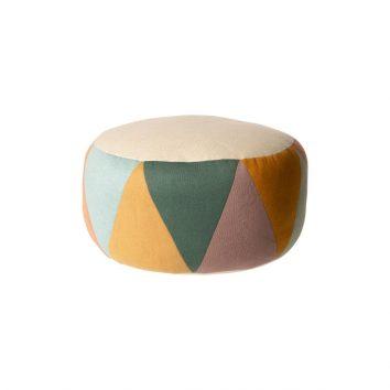 Puff tambor multicolor grande de Maileg