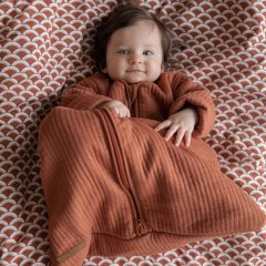 Saco de dormir de invierno 90 cm rust de Little Dutch