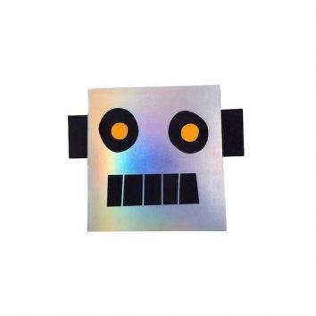 Cuaderno pegatinas Robot Meri meri