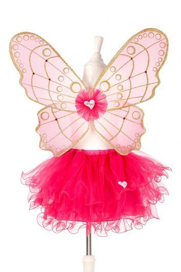 Disfraz alas y falda Babette de Souza