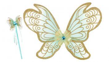 Conjunto de alas y varita Jeanne de Souza