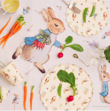 Platos Peter Rabbit de Meri Meri