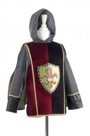Disfraz túnica de caballero Rudolph de Souza