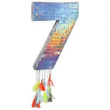Piñata número 7 de Meri Meri