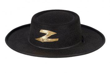 Sombrero Jean Claude en negro de Souza