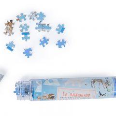 Minipuzzle Glaciar