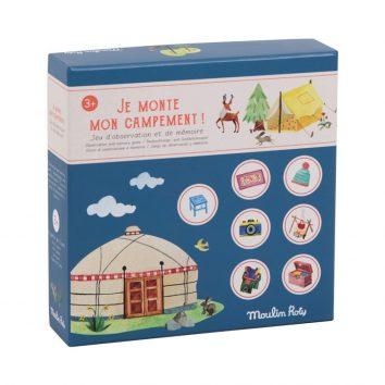 """Juego """"La acampada"""" Moulin Roty"""
