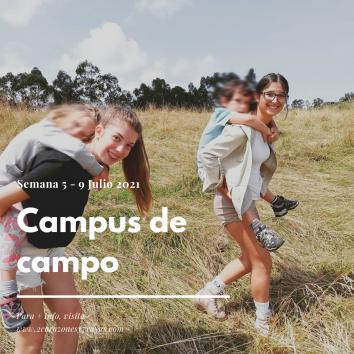 CAMPUS DE CAMPO 5-9 julio 2021