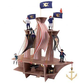 Centro de mesa piratas de Moulin Roty