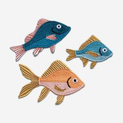 Pegatinas bordadas Japan de Don Fisher