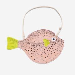 Bolso grande pez globo rosa de Don Fisher