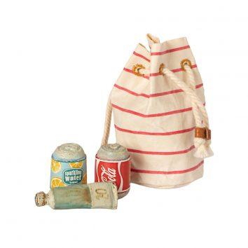 Bolsa de playa con esenciales Maileg