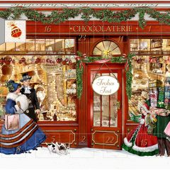 Calendario Adviento chocos la chocolatería de Spiegelburg